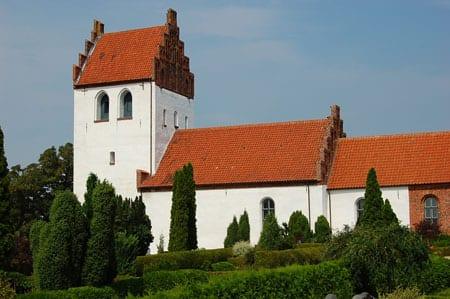 Billede af Jørlunde Kirke i Lynge-Frederiksborg Herred