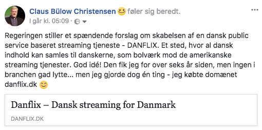 Danflix og Danmarks Radio 5
