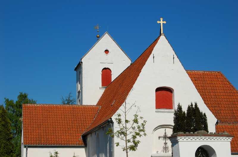 Kirken mindre
