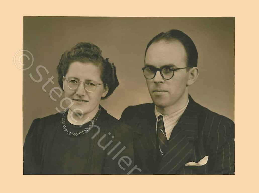 Rigmor Emilie Stegemüller og Laurits Peter Pedersen