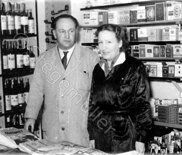 Rudolph Wilhelm Stegemüller og Tove Anna Bodil Svendsen