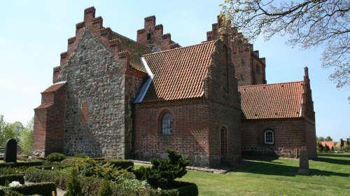 Hoejby kirke grid