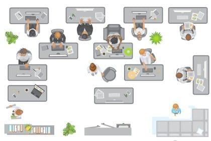 Forsker: Drop åbne kontorlandskaber