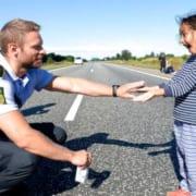 Syrien flygtning motorvej 2015