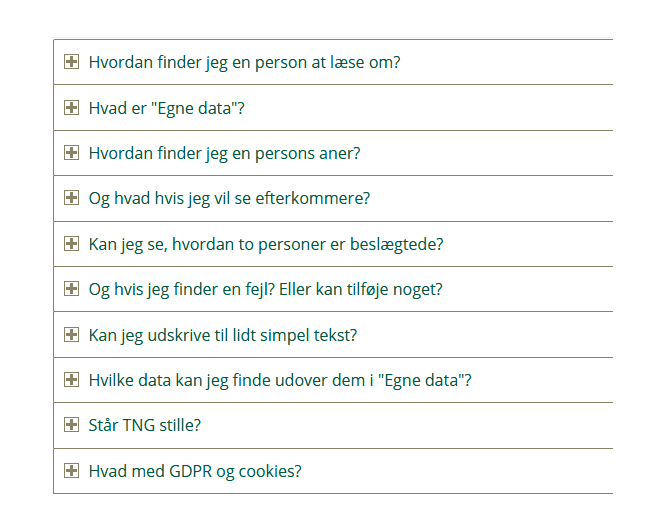 Dansk FAQ til TNG 1