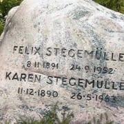 Stegemuller Felix og Soerensen Karen gravsted