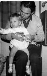Hanne B. Stegemüller med sin far. Havde han også Aspergers syndrom?
