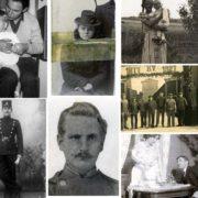 Gamle billeder collage