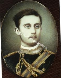 Georg Christian Kastrup Nissen gift med Sah Davies